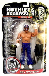 WWE Wrestling Ruthless Aggression Series 33 Action Figure Rey Mysterio