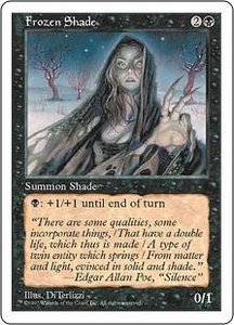Magic the Gathering Fifth Edition Single Card Common Frozen Shade