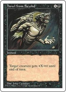 Magic the Gathering Fifth Edition Single Card Common Howl from Beyond