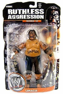 WWE Wrestling Ruthless Aggression Series 32 Action Figure Umaga