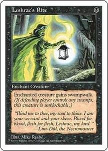 Magic the Gathering Fifth Edition Single Card Uncommon Leshrac's Rite