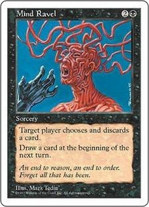 Magic the Gathering Fifth Edition Single Card Common Mind Ravel