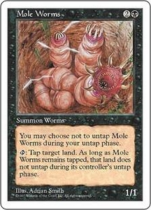 Magic the Gathering Fifth Edition Single Card Uncommon Mole Worms