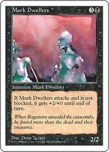 Magic the Gathering Fifth Edition Single Card Common Murk Dwellers