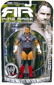 WWE Wrestling Ruthless Aggression Ring Rage Series 31.5 Action Figure CM Punk