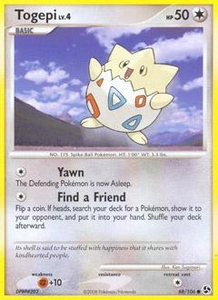 Pokemon Card Game DP Diamond & Pearl Great Encounters Single Card Common #88 Togepi