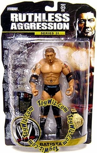 WWE Wrestling Ruthless Aggression Series 31 Action Figure Batista