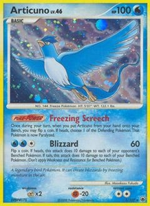 Pokemon Card Game DP Diamond & Pearl Majestic Dawn Single Card Rare #1 Articuno