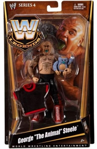 Mattel WWE Wrestling Legends Series 4 Action Figure George the Animal Steele