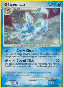 Pokemon Card Game DP Diamond & Pearl Majestic Dawn Single Card Rare #5 Glaceon
