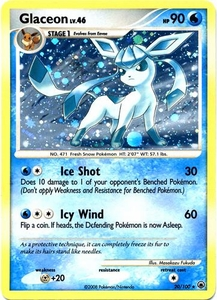 Pokemon Card Game DP Diamond & Pearl Majestic Dawn Single Card Rare Holo #20 Glaceon