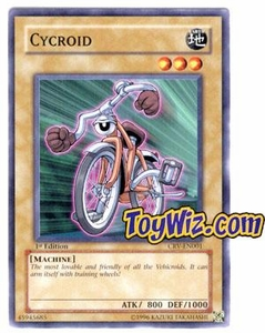 YuGiOh Cybernetic Revolution Single Card Common CRV-EN001 Cycroid