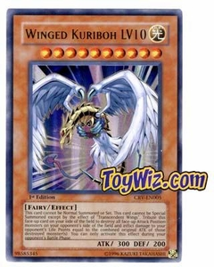 YuGiOh Cybernetic Revolution Ultra Rare Single Card Ultra Rare CRV-EN005 Winged Kuriboh LV10