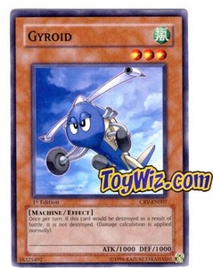 YuGiOh Cybernetic Revolution Single Card Common CRV-EN007 Gyroid
