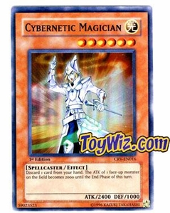 YuGiOh Cybernetic Revolution Single Card Super Rare CRV-EN016 Cybernetic Magician
