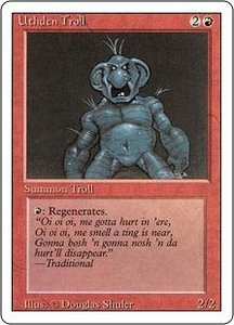 Magic the Gathering Revised Edition Single Card Uncommon Uthden Troll