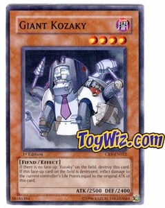 YuGiOh Cybernetic Revolution Single Card Common CRV-EN022 Giant Kozaky
