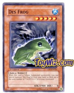 YuGiOh Cybernetic Revolution Single Card Common CRV-EN026 Des Frog