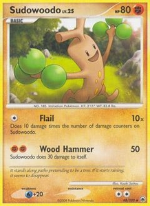 Pokemon Card Game DP Diamond & Pearl Majestic Dawn Single Card Uncommon #48 Sudowoodo