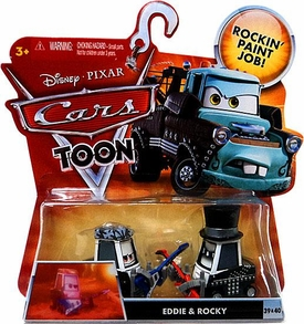 Disney / Pixar CARS TOON 1:55 Die Cast Car Eddie & Rocky