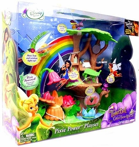 Disney Fairies Tinker Bell And The Great Fairy Rescue Fairy Playset Pixie Power