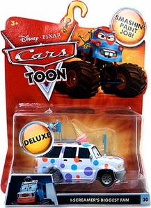 Disney / Pixar CARS TOON 1:55 Die Cast Car Oversized Vehicle I-Screamers Biggest Fan