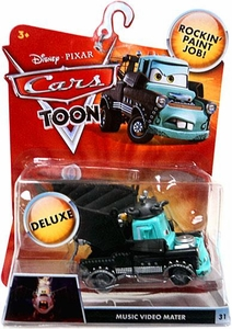 Disney / Pixar CARS TOON 1:55 Die Cast Car Oversized Vehicle Music Video Mater