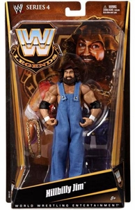 Mattel WWE Wrestling Legends Series 4 Action Figure Hillbilly Jim