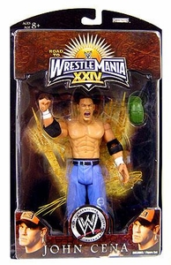 WWE Wrestlemania 24 Exclusive Series 3 Action Figure John Cena