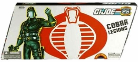 GI Joe Hasbro 25th Anniversary 3 3/4 Inch Series 2 Cobra Legions Action Figure 5-Pack