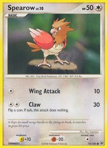 Pokemon Card Game DP Diamond & Pearl Majestic Dawn Single Card Common #74 Spearow
