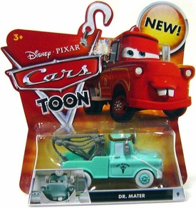Disney / Pixar CARS TOON 1:55 Die Cast Car Dr. Mater [Mask DOWN]