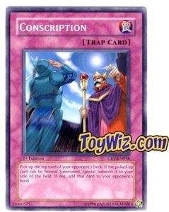 YuGiOh Cybernetic Revolution Single Card Common CRV-EN058 Conscription