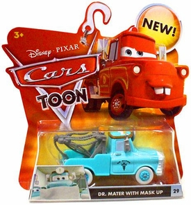 Disney / Pixar CARS TOON 1:55 Die Cast Car Dr. Mater [Mask UP]