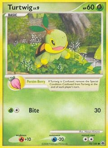 Pokemon Card Game DP Diamond & Pearl Majestic Dawn Single Card Uncommon #78 Turtwig