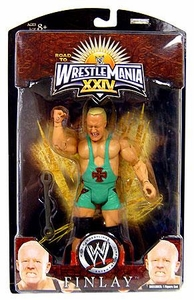 WWE Wrestlemania 24 Exclusive Series 3 Action Figure Finlay
