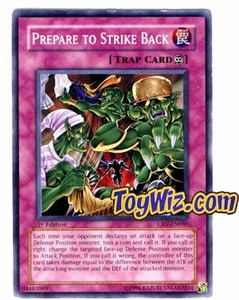 YuGiOh Cybernetic Revolution Single Card Common CRV-EN060 Prepare to Strike Back