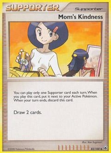 Pokemon Card Game DP Diamond & Pearl Majestic Dawn Single Card Uncommon #83 Mom's Kindness
