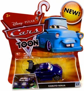 Disney / Pixar CARS TOON 1:55 Die Cast Car Kabuto Ninja