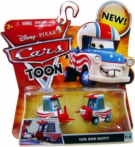 Disney / Pixar CARS TOON 1:55 Die Cast Car Lug & Nutty