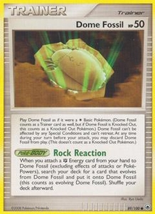 Pokemon Card Game DP Diamond & Pearl Majestic Dawn Single Card Common #89 Dome Fossil
