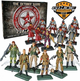 Hasbro GI Joe Operation Bear Trap 2012 Convention Souvenir Exclusive Action Figure 15-Pack The Oktober Guard