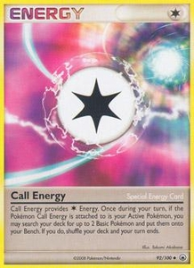 Pokemon Card Game DP Diamond & Pearl Majestic Dawn Single Card Uncommon #92 Call Energy