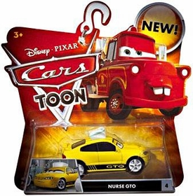 Disney / Pixar CARS TOON 1:55 Die Cast Car Nurse GTO