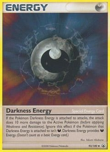 Pokemon Card Game DP Diamond & Pearl Majestic Dawn Single Card Uncommon #93 Darkness Energy (Special)