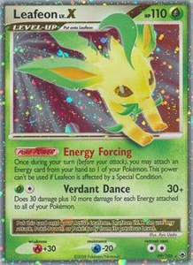 Pokemon Card Game DP Diamond & Pearl Majestic Dawn Single Card Ultra-Rare #99 Leafeon Lv.X
