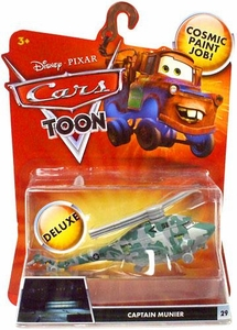 Disney / Pixar CARS TOON 1:55 Die Cast Car Oversized Vehicle Captain Munier