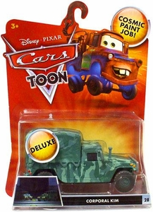 Disney / Pixar CARS TOON 1:55 Die Cast Car Oversized Vehicle Corporal Kim