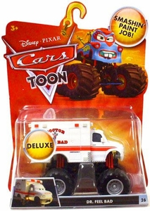 Disney / Pixar CARS TOON 1:55 Die Cast Car Oversized Vehicle Dr. Feel Bad