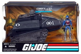 GI Joe 25th Anniversary Vehicle H.I.S.S. Tank with HISS Commander Action Figure